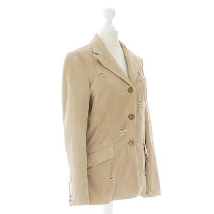 D&G Corduroy Blazer in beige