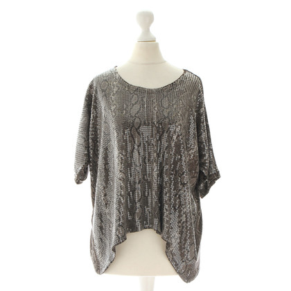 Michael Kors Top with reptile-print