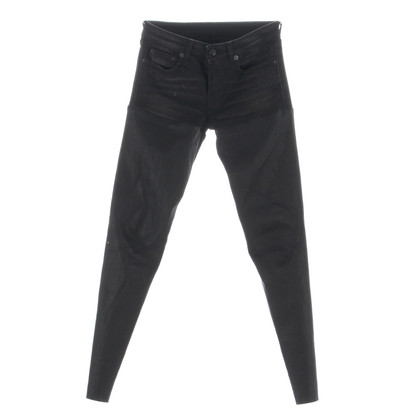 "R 13 Jeans ""Chaps"" with leather"