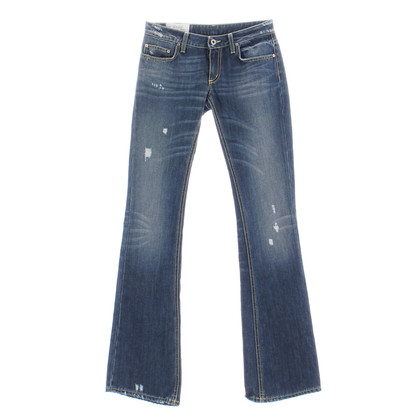 "Dondup Jeans ""Hero"" in Blue Denim"
