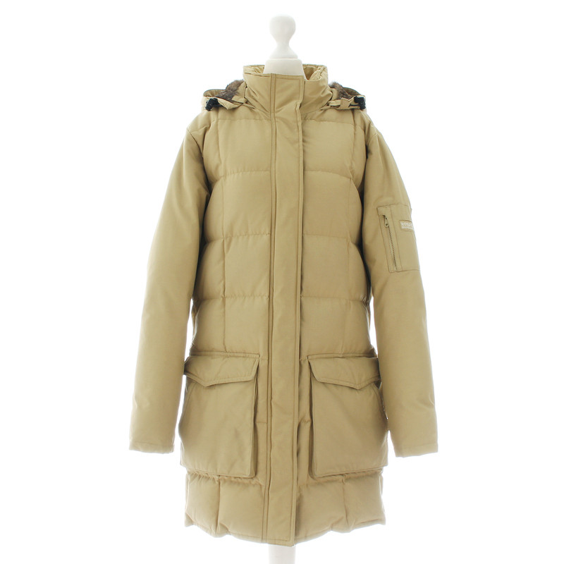 Woolrich mantel beige