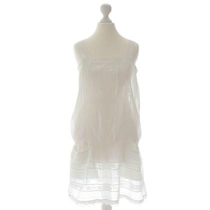 Dondup White lace dress