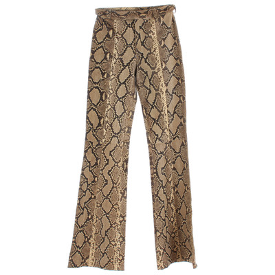 gucci trouser snake leather second hand gucci trouser snake