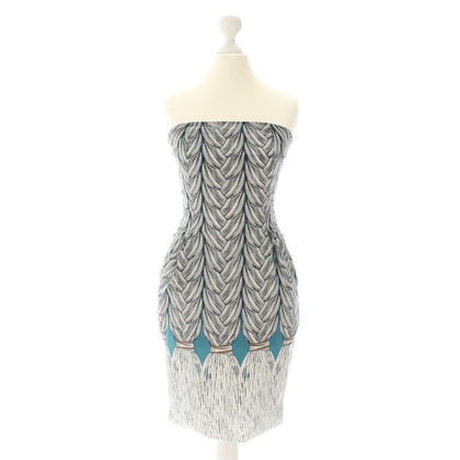Mara Hoffman Print Bustier dress