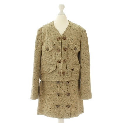 Moschino Costume di tweed beige