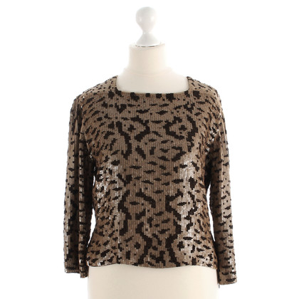 Ella Singh Top with leather sequins