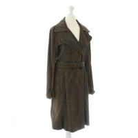 Marc Cain Trench coat leather