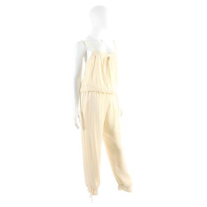 Paul & Joe Silk jumpsuit in cream