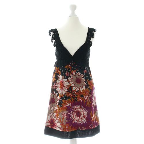 258dce71fd664c Andere merkenFree People – Bloem jurk met kant- Second-handAndere ...