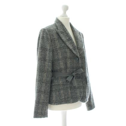 Valentino Tweed Blazer in grey