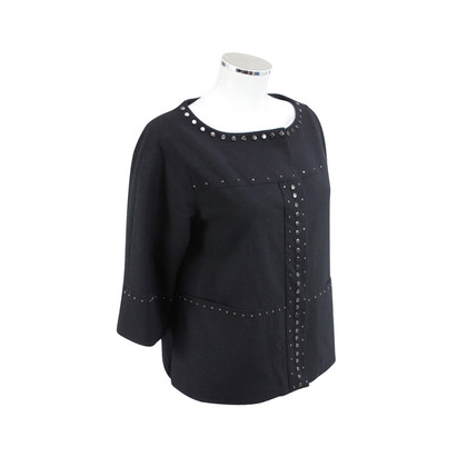 DKNY Black Blazer with rivets decorating