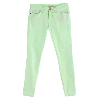 "Current Elliott Jeans ""The Stiletto"" lime green"