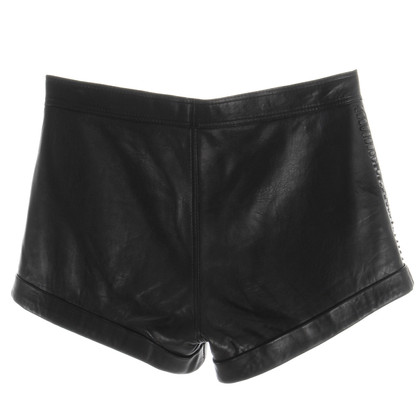 Rika Hot Pants made of leather
