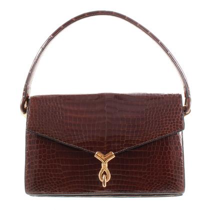 Hermès Vintage reptile leather bag