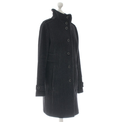 Cinque Coat in dark grey
