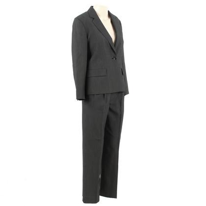 Max Mara Pantalon de costume gris