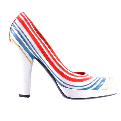 Louis Vuitton Plateau pumps with stripes