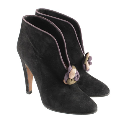 Other Designer Elyse - ankle boots with decorative flower