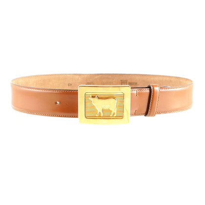 Moschino Bull belt buckle