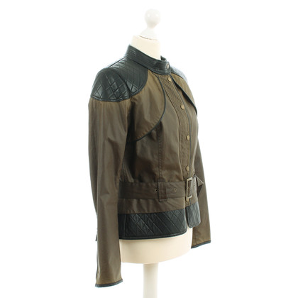 Barbour Wax jacket with leather