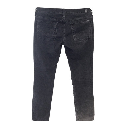 7 For All Mankind Jeans black straight leg