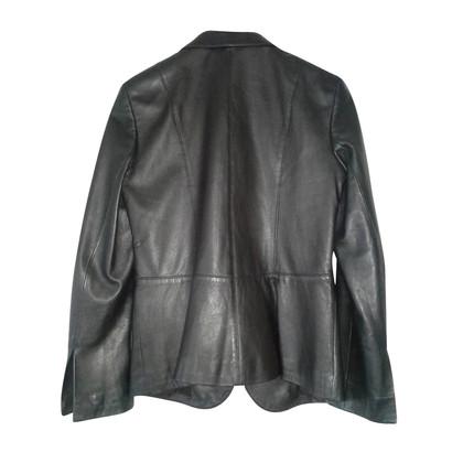 DKNY Blazer in pelle