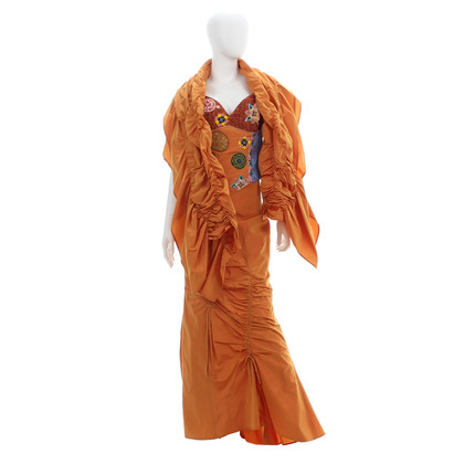 Ella Singh Two-piece evening dress with shawl