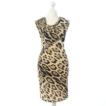 Roberto Cavalli Leo pattern dress