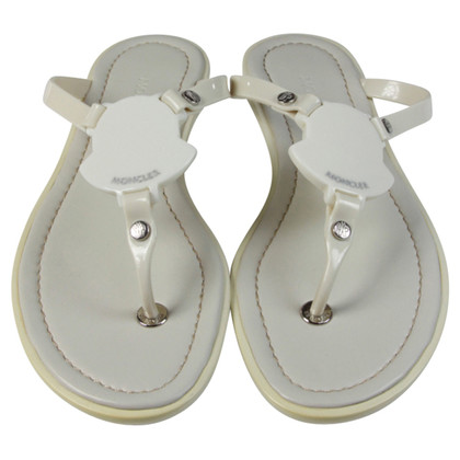 Moncler Sandali infradito bianco scarpe