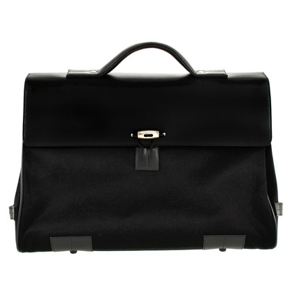 Mont Blanc Briefcase in black