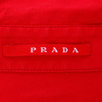 Prada Red blouse