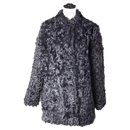 Antik Batik Giacca di pelliccia nero