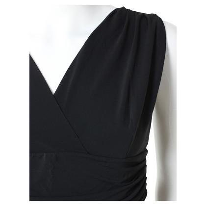 Piu & Piu Zwarte stretch jurk