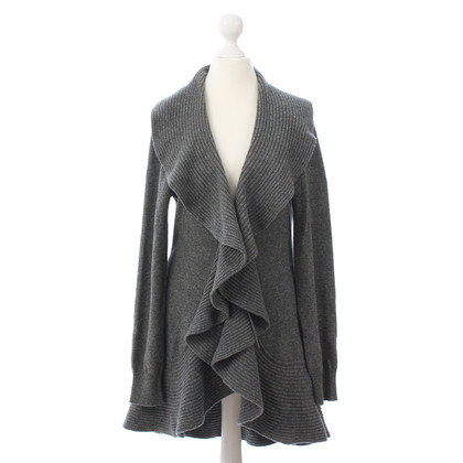 La Perla Graue Strickjacke
