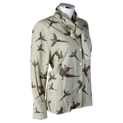 Aigner Fazant afdrukken blouse