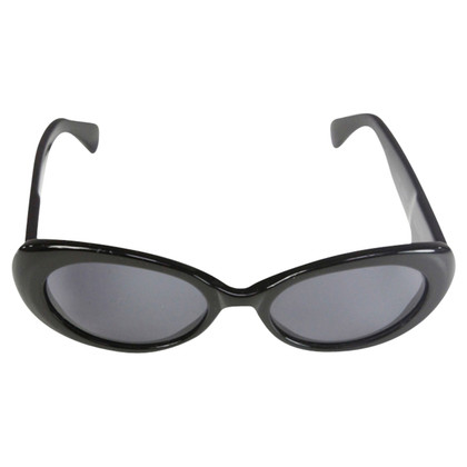 Escada Sunglasses black with gemstone embellishment