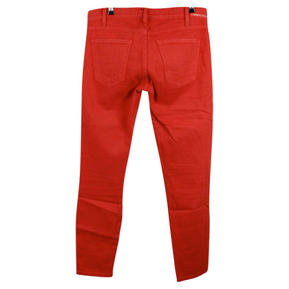 Current Elliott Red skinny-jeans