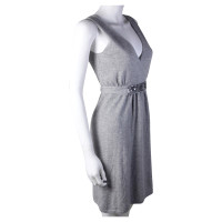 FTC Gray Cashmerekleid with sequin trim