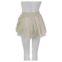 Blaumax Sand-colored mini skirt