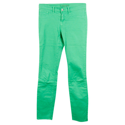 J Brand Skinny jeans verde mela
