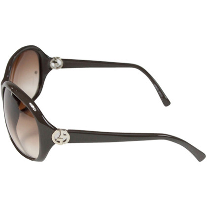 Giorgio Armani Brown oversize sunglasses