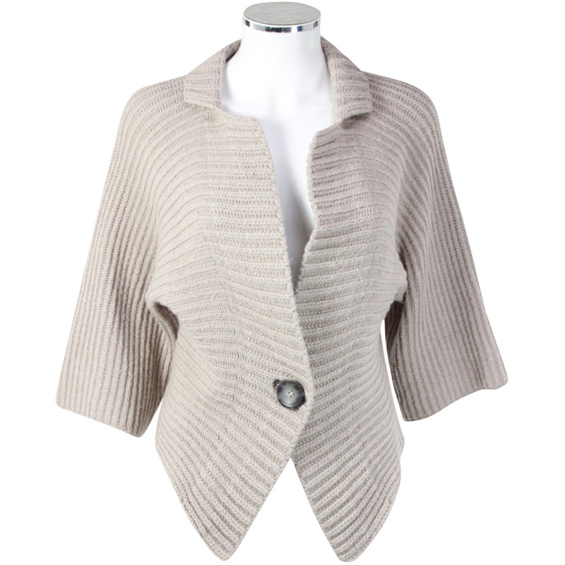 Marc Cain Beige knitted Cardigan