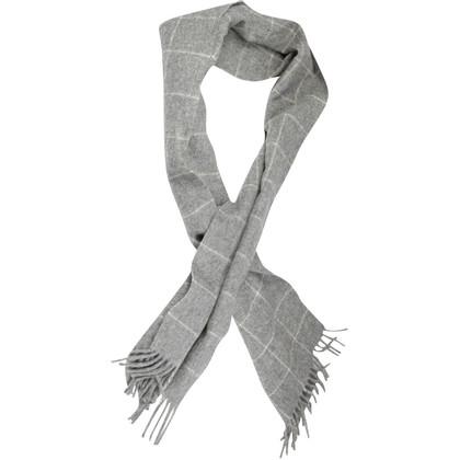 Bogner Grijze wol sjaal