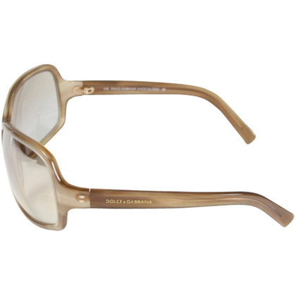 Dolce & Gabbana Light brown sunglasses