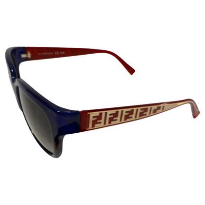 Fendi  sunglasses blue / bordeaux