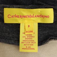 Catherine Malandrino Jurk in grijs en beige