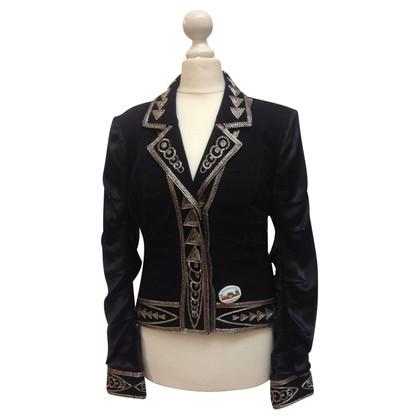 Christian Dior Black Blazer with decorative trim