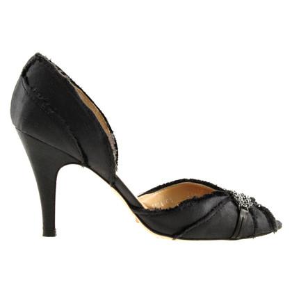 Pedro Garcia Peep-toes with Rhinestone