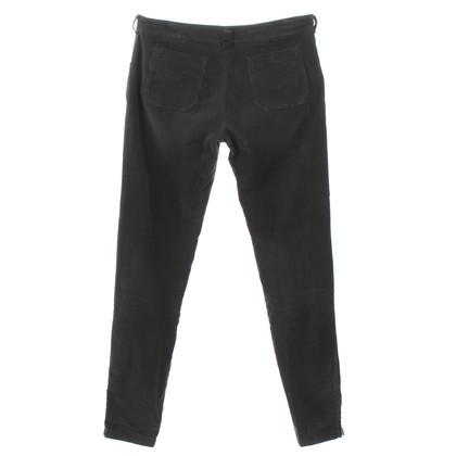 Balenciaga Corduroy trousers in khaki