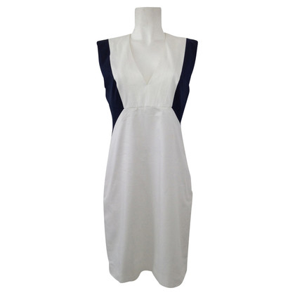 Hugo Boss White - blue dress